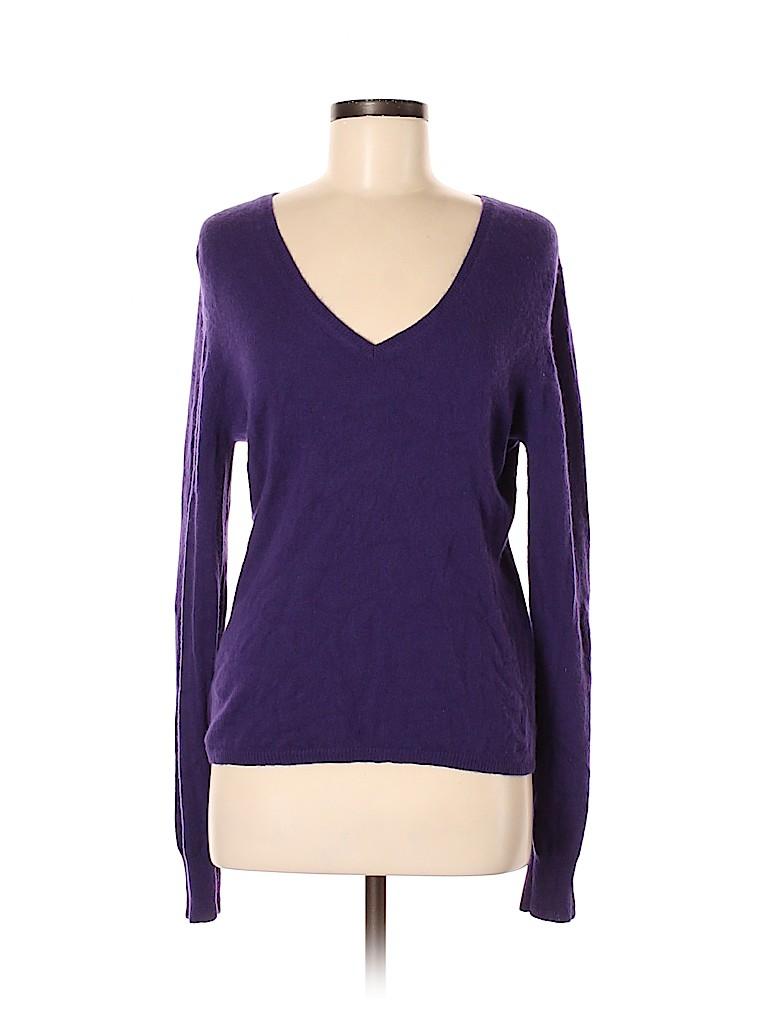 Repeat Cashmere Women Cashmere Pullover Sweater Size L