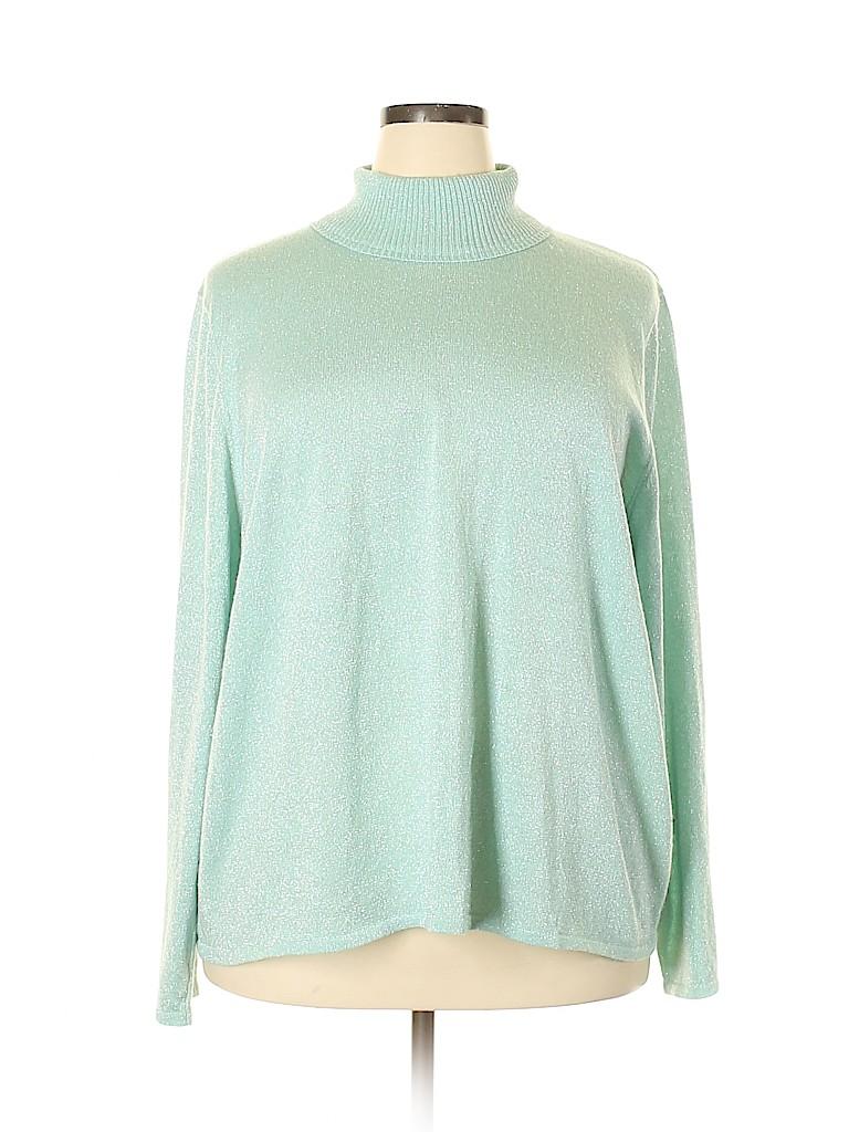 Susan Graver Women Pullover Sweater Size 3X (Plus)
