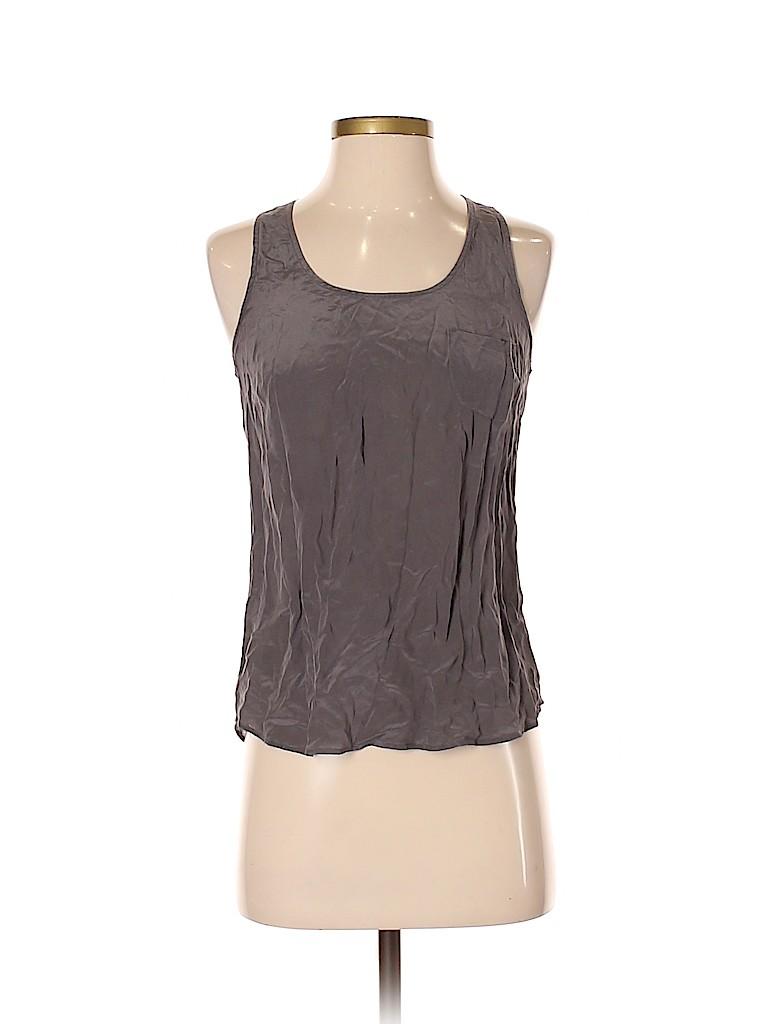 Fei Women Sleeveless Silk Top Size 2