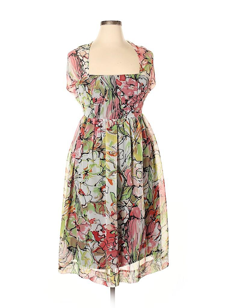 B. Moss Women Casual Dress Size 10