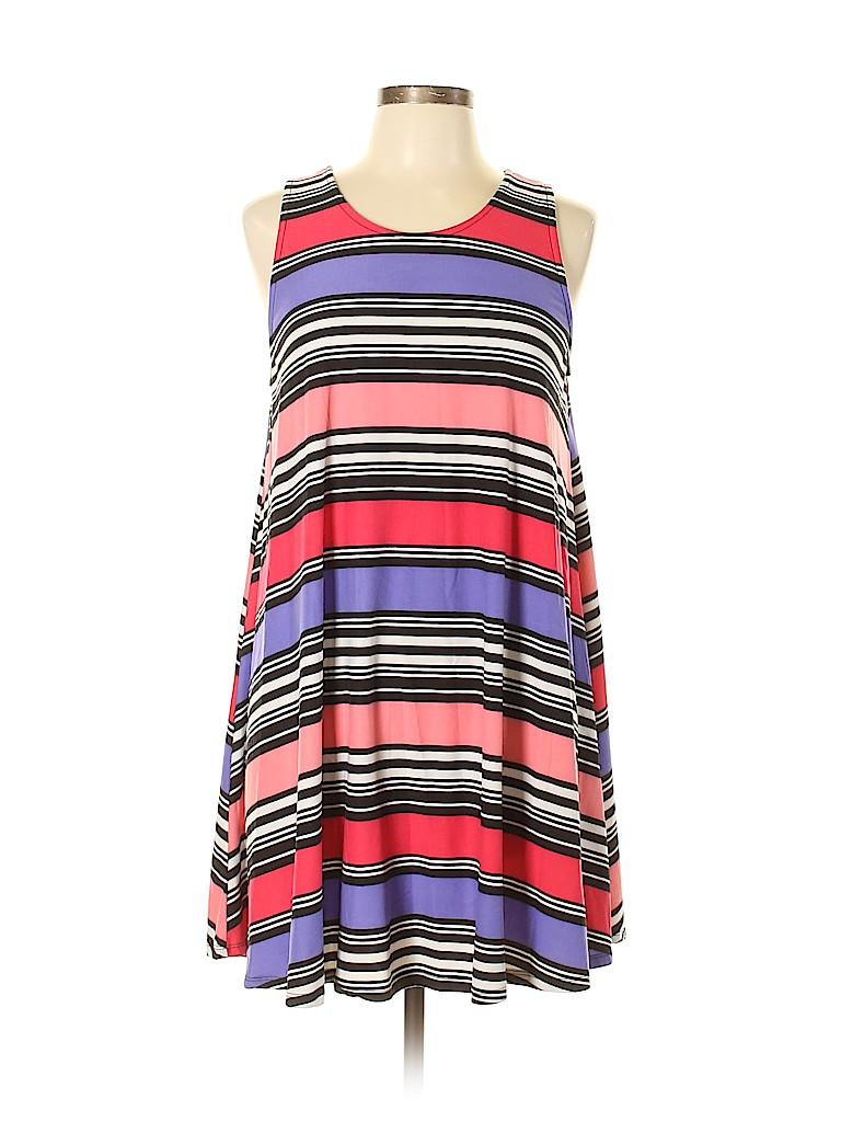 Derek Heart Women Casual Dress Size L