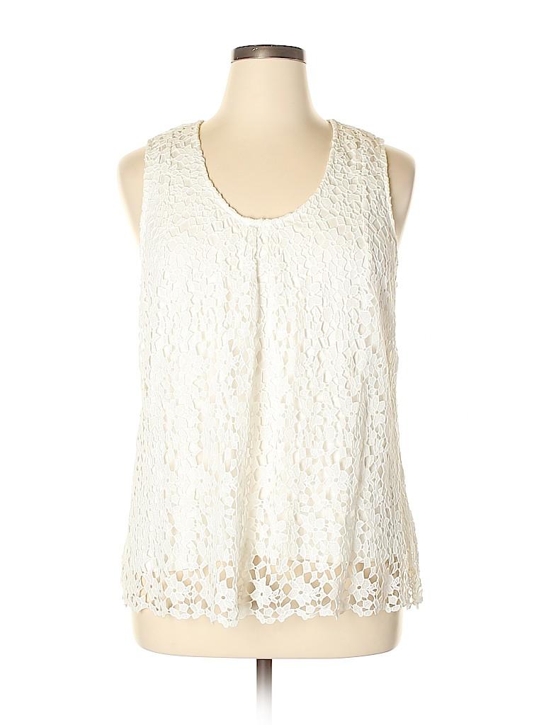 Daniel Rainn Women Sleeveless Top Size XL