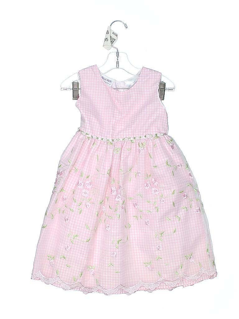 Blueberi Boulevard Girls Special Occasion Dress Size 4T
