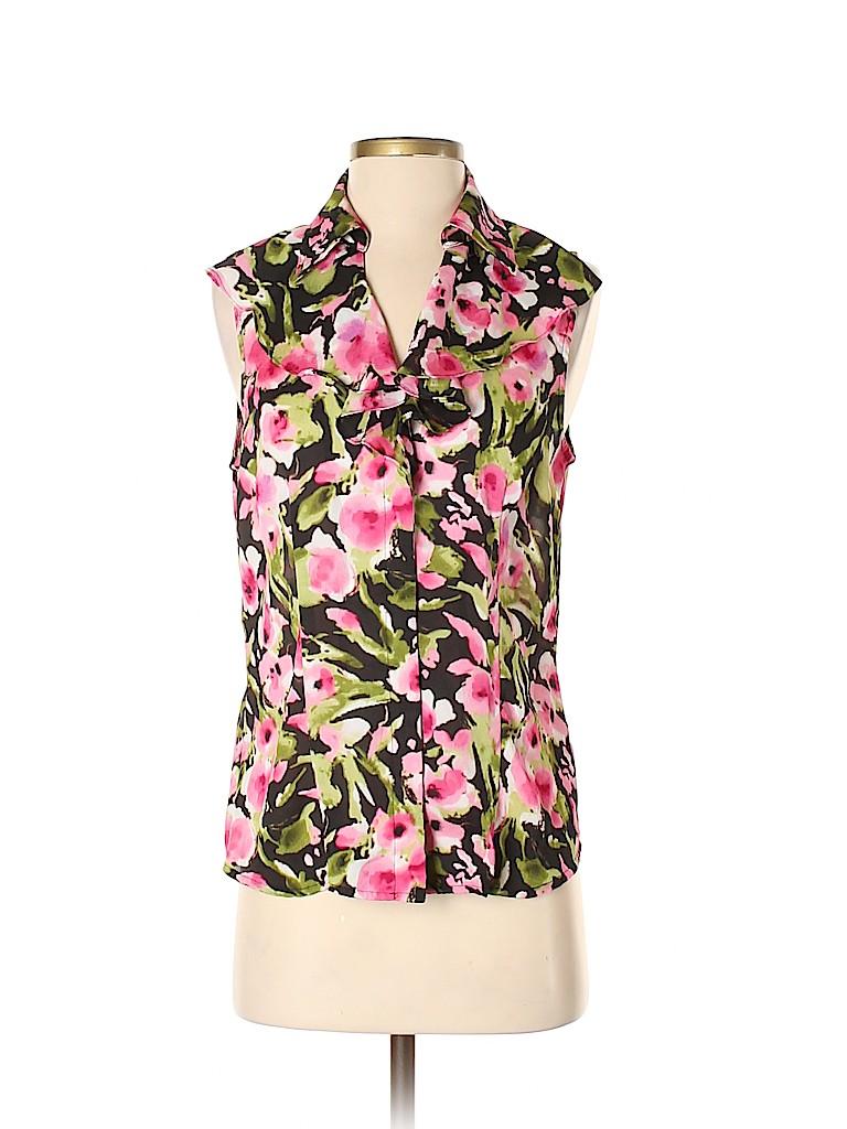 Jones New York Women Sleeveless Blouse Size S