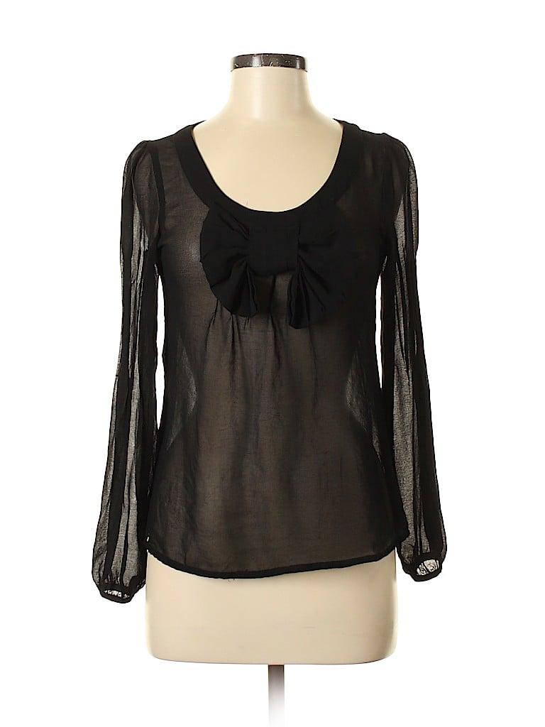 Esley Women Long Sleeve Blouse Size M