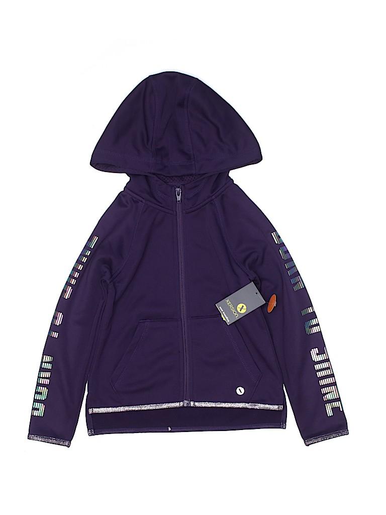 Xersion Girls Zip Up Hoodie Size 4 - 5