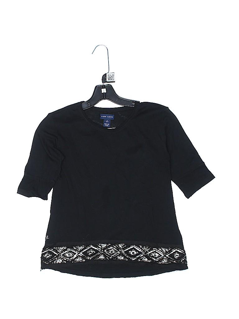 Ralph Lauren Girls 3/4 Sleeve T-Shirt Size 8
