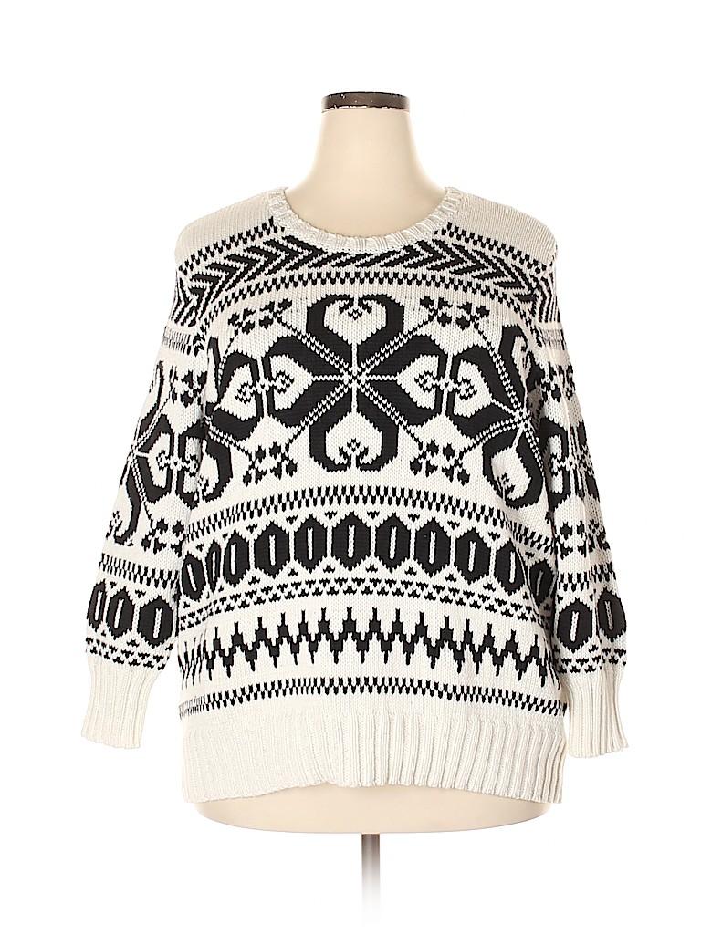 Lauren by Ralph Lauren Women Pullover Sweater Size 1X (Plus)