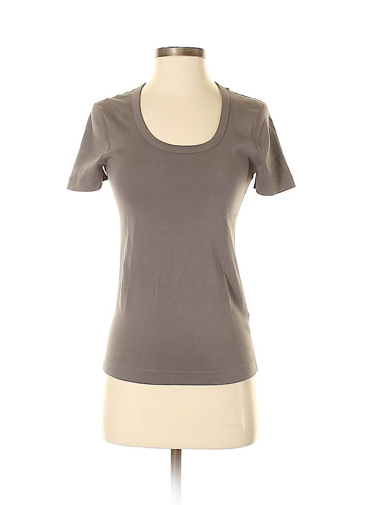 Three Dots Women Short Sleeve T-Shirt Size M