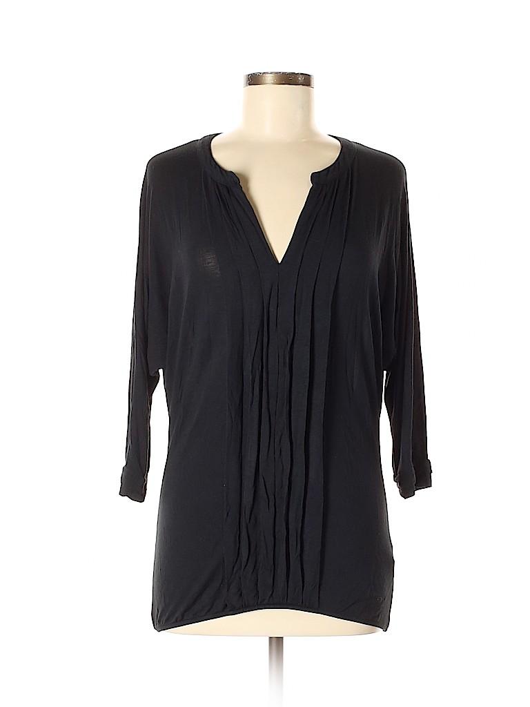 Vivienne Vivienne Tam Women 3/4 Sleeve Top Size XS