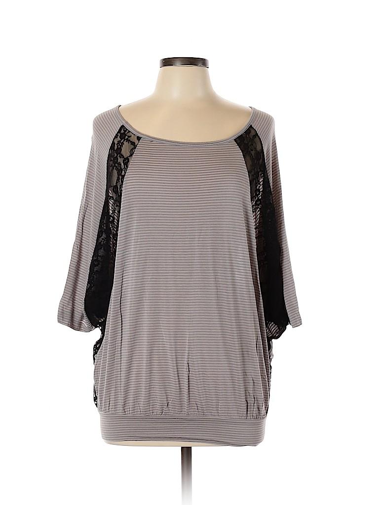 West Kei Women Short Sleeve Top Size M
