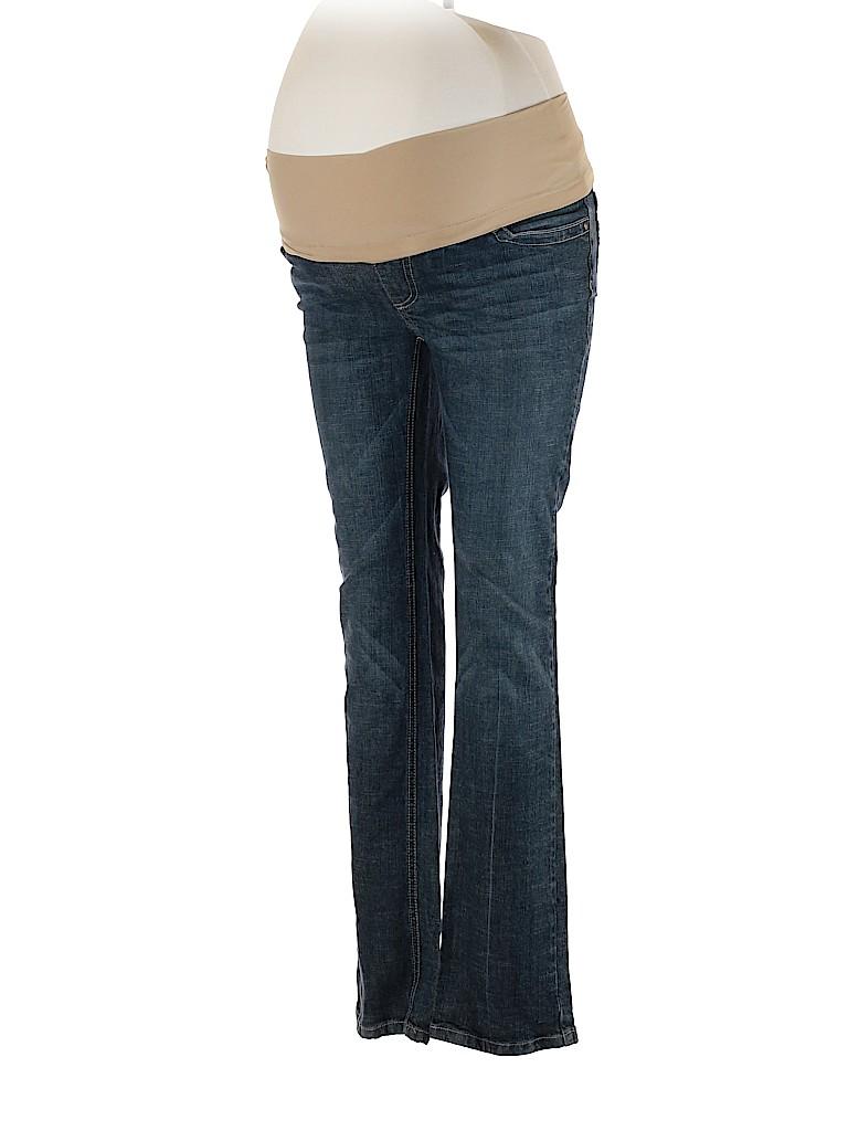 Indigo Blue Women Jeans Size S (Maternity)