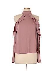 Amanda Uprichard Long Sleeve Blouse