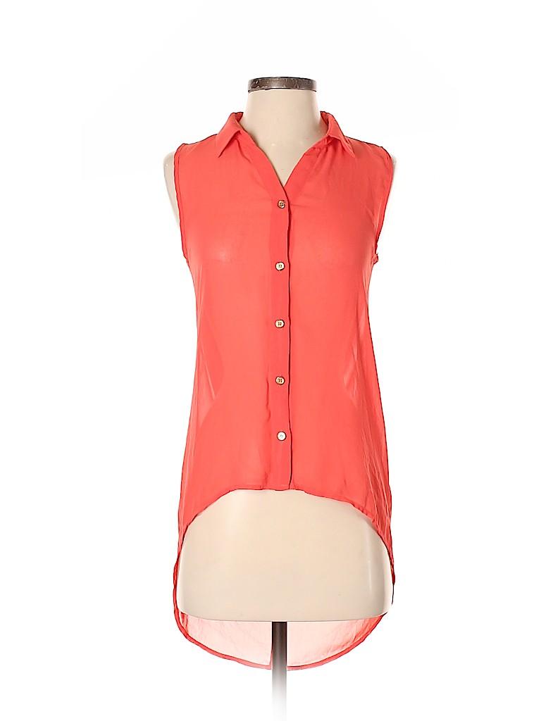 Papaya Women Sleeveless Blouse Size S