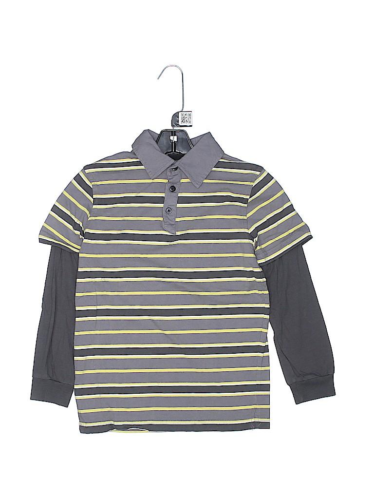 Shaun White Boys Long Sleeve Polo Size M (Kids)