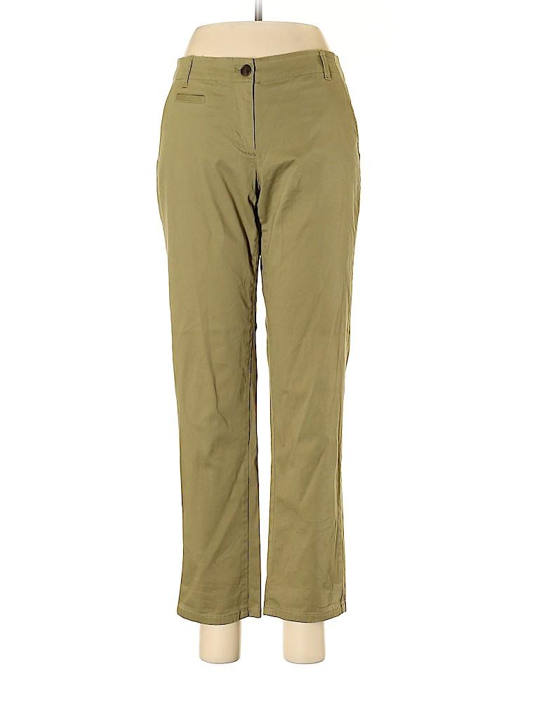 J.jill Women Khakis Size 6 (Petite)