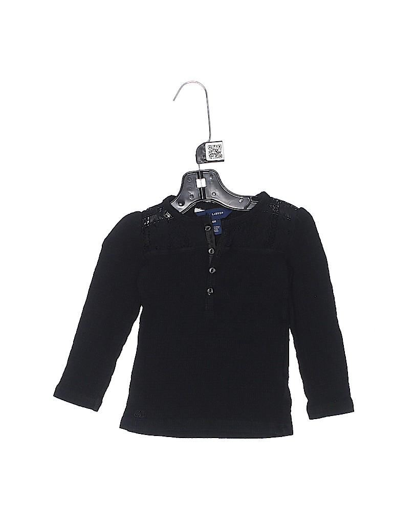 Ralph Lauren Girls Long Sleeve Henley Size 24 mo