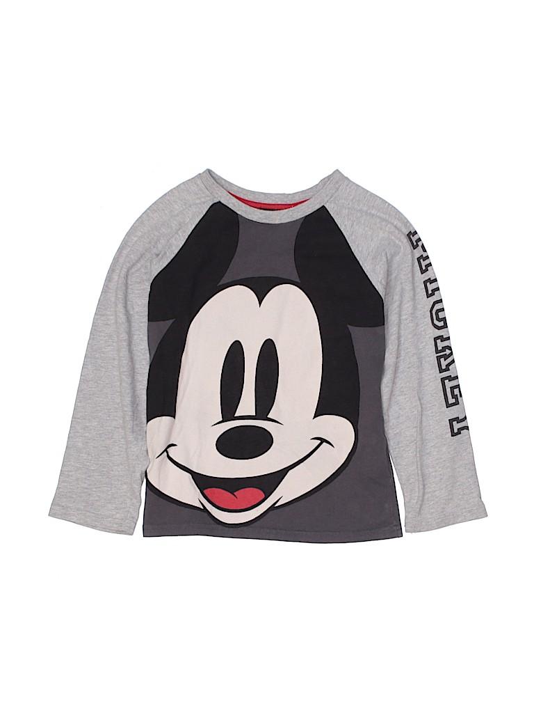 Disney Boys Long Sleeve T-Shirt Size 6