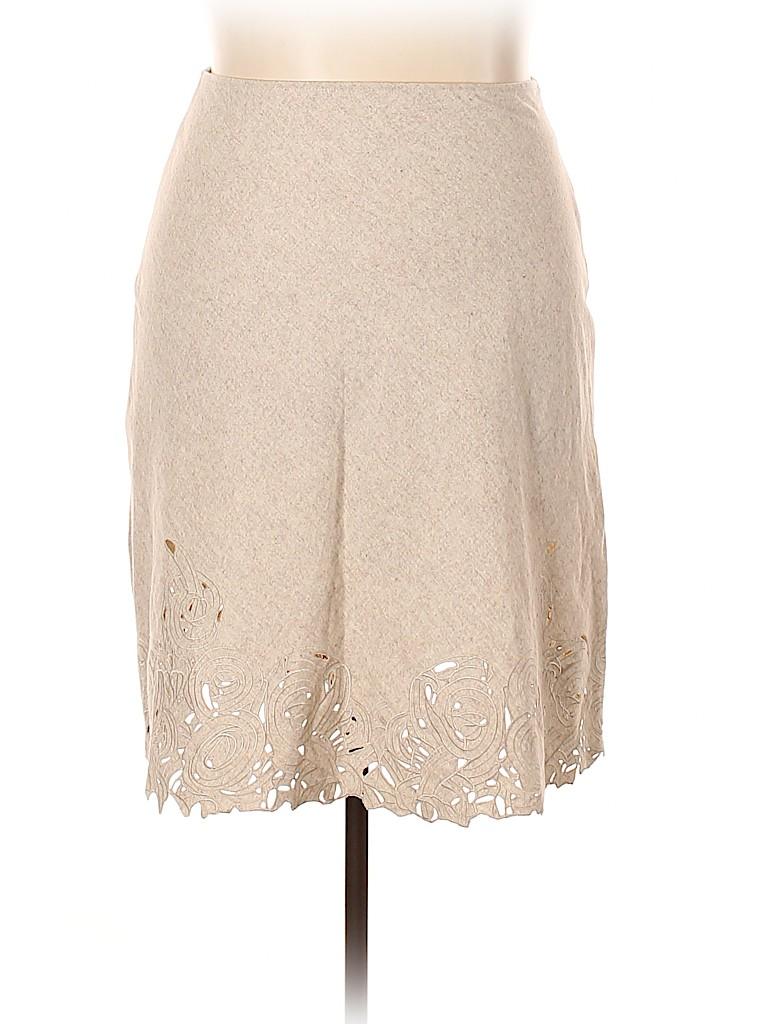 B. Moss Women Wool Skirt Size 14