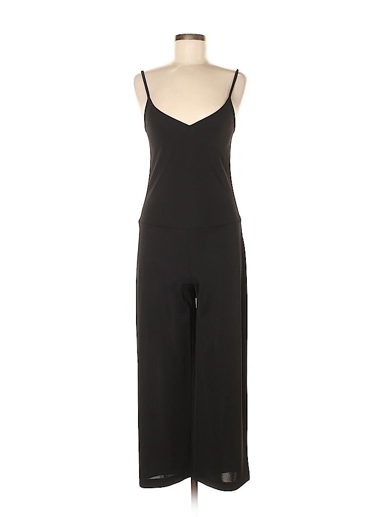 534cf4edc1 Spiegel 100% Polyester Solid Black Jumpsuit Size 6 - 53% off