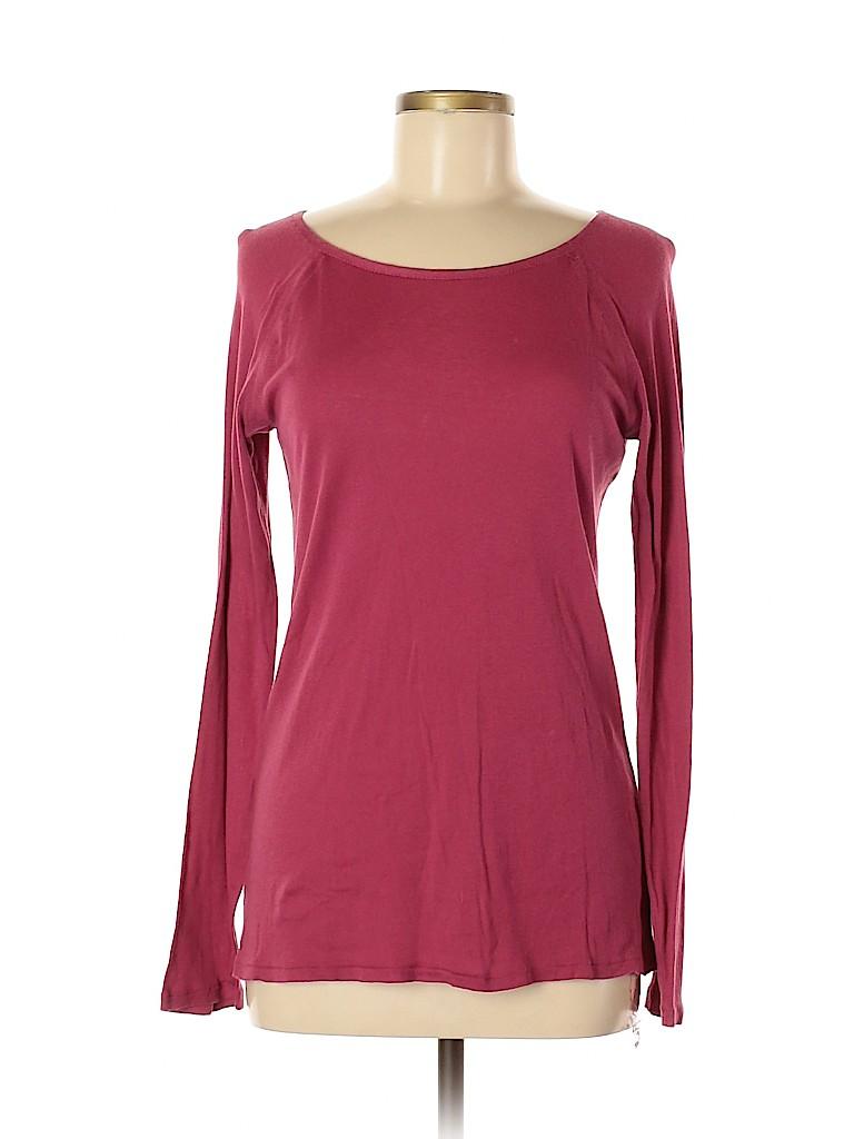 Martin + Osa Women Long Sleeve T-Shirt Size M