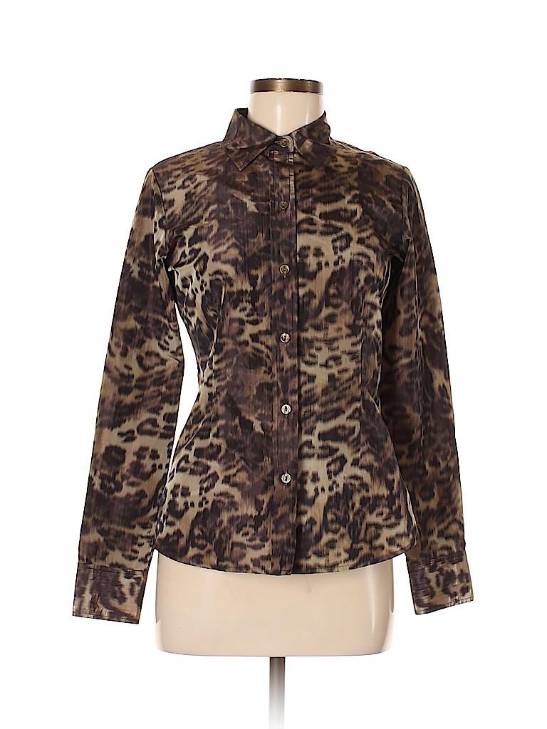 Leggiadro Women Long Sleeve Blouse Size 6