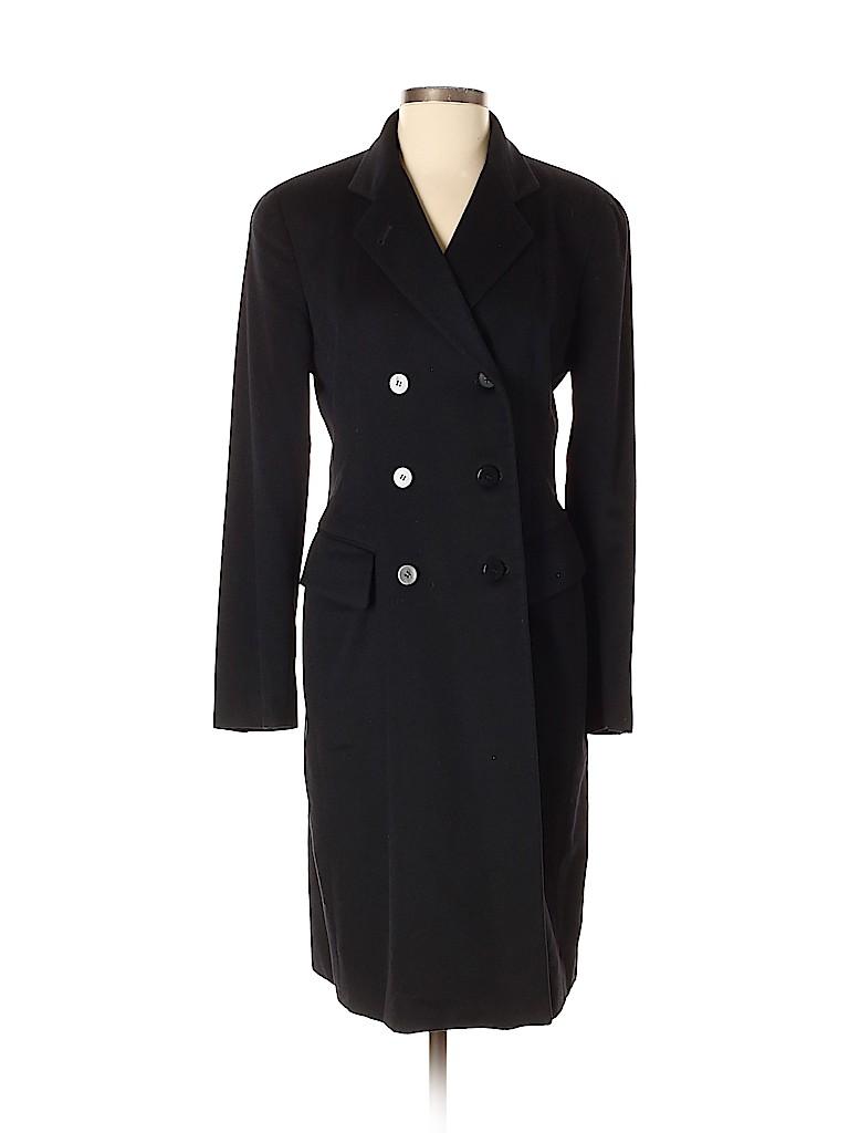 Donna Karan New York Women Wool Coat Size S