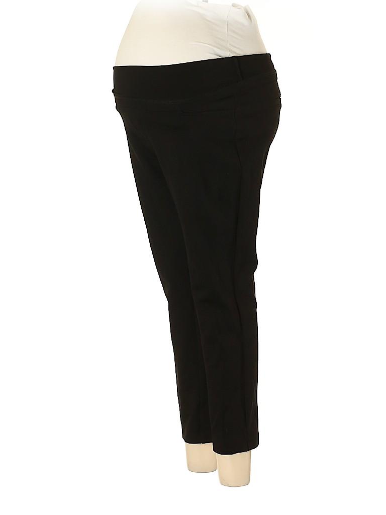 Noir Maternity Women Active Pants Size M (Maternity)