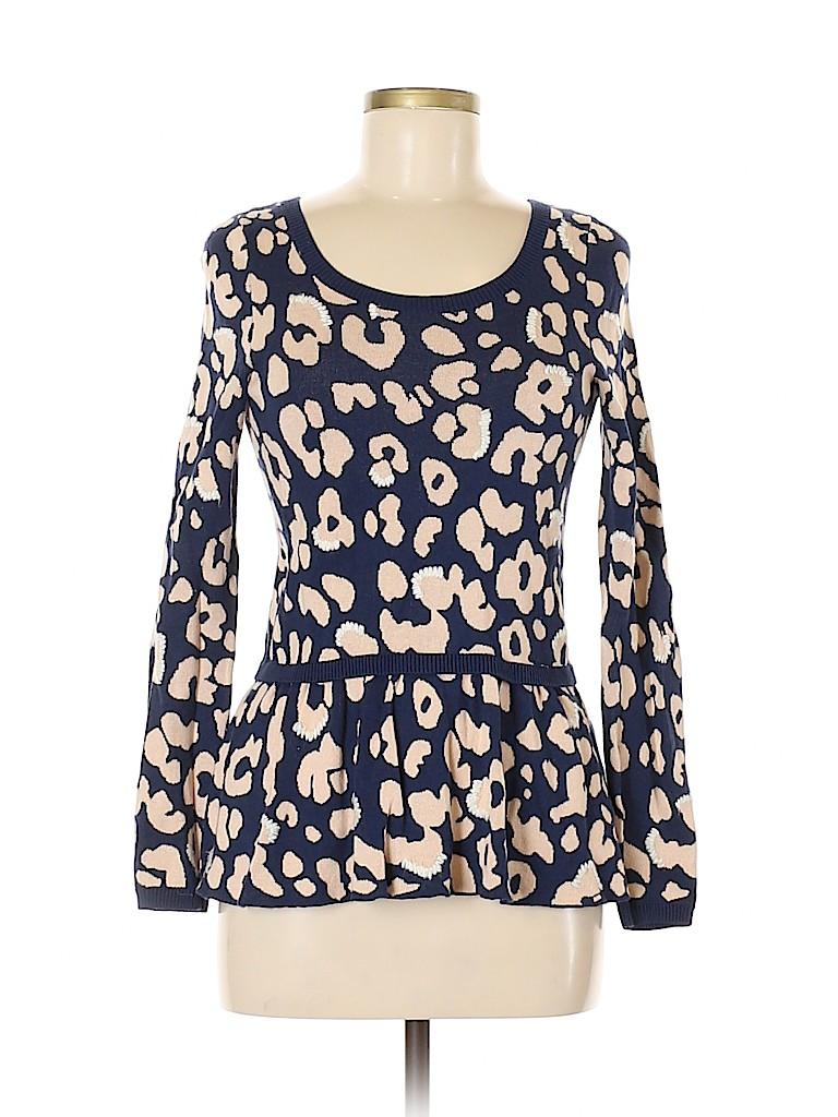 Moth Women Pullover Sweater Size S (Petite)