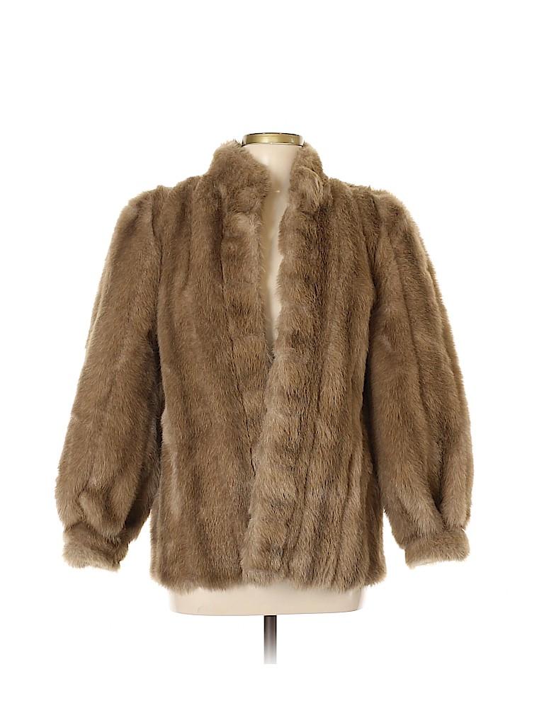 Sears Women Faux Fur Jacket Size S
