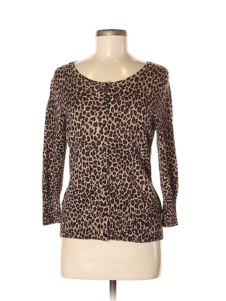 Debbie Morgan Women Cardigan Size M