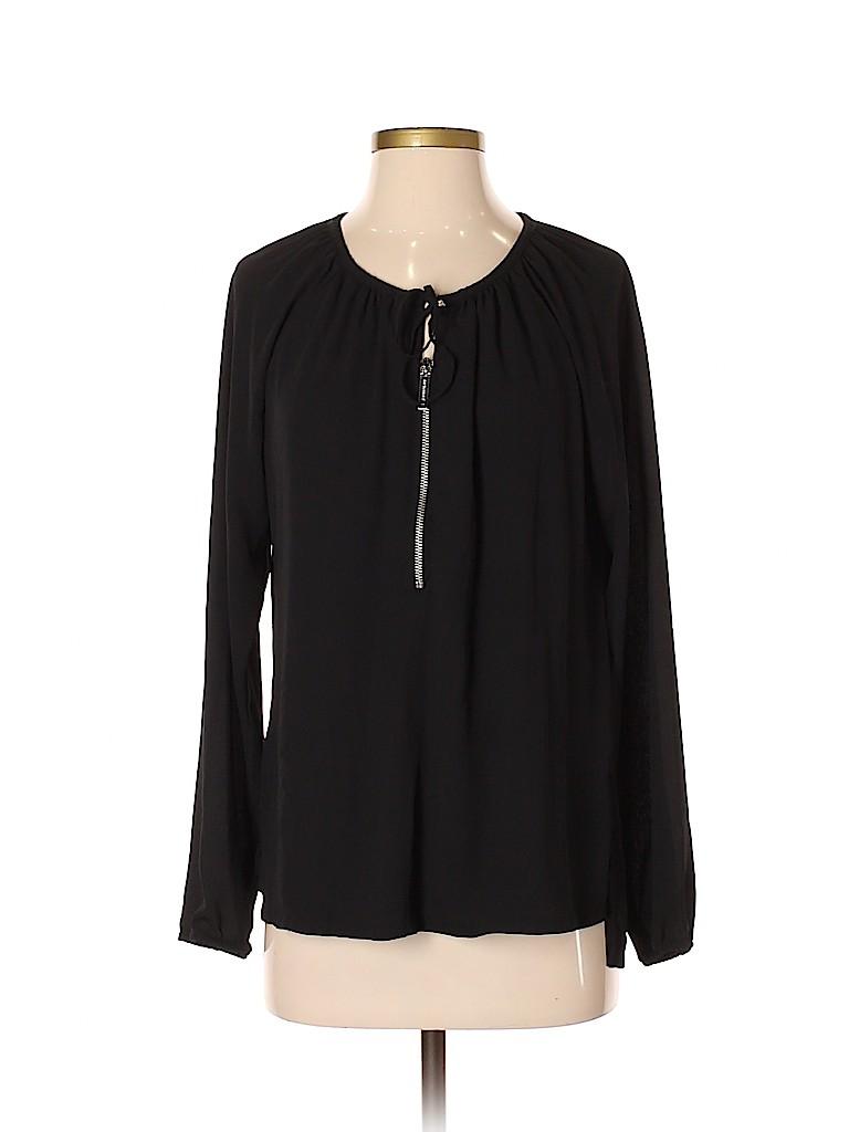 MICHAEL Michael Kors Women Long Sleeve Blouse Size 4