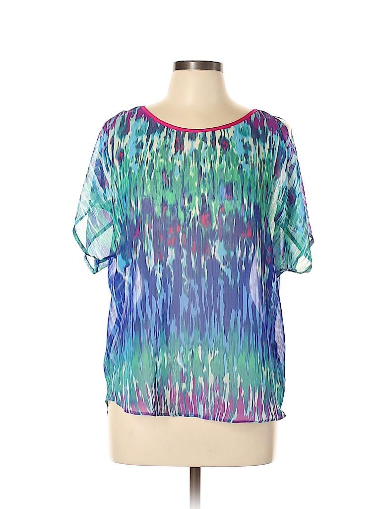 Express Women Short Sleeve Blouse Size M