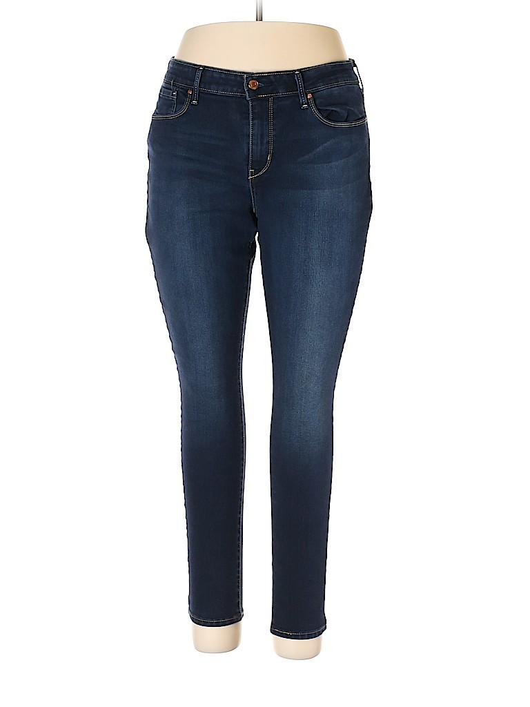 Levi Strauss Signature Women Jeans Size 18 (Plus)