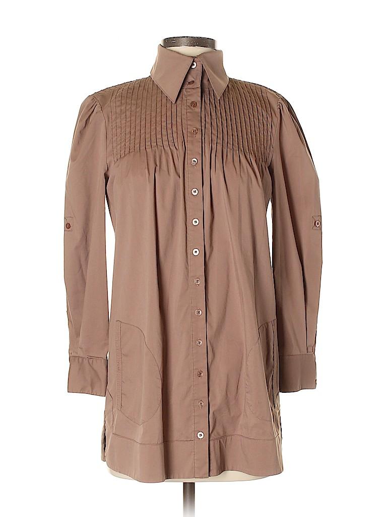 Bebe Women Long Sleeve Blouse Size XS