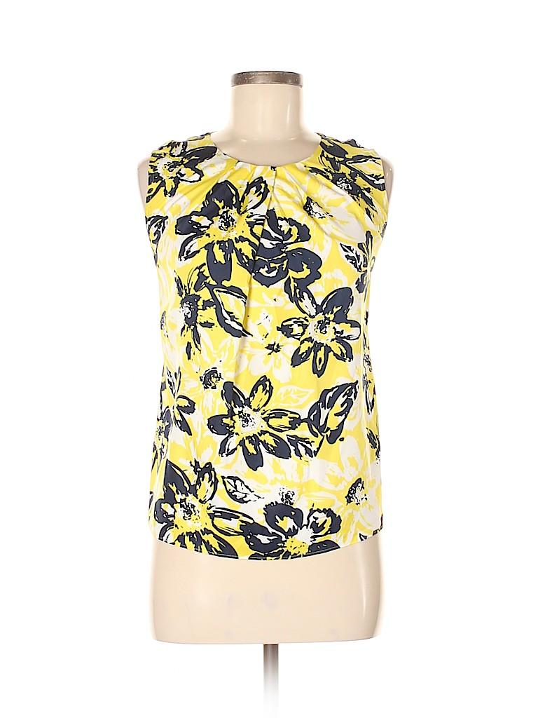 Jones New York Collection Women Sleeveless Blouse Size 8