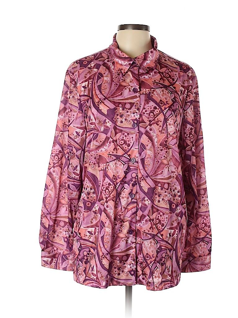 Blair Women Long Sleeve Blouse Size XL