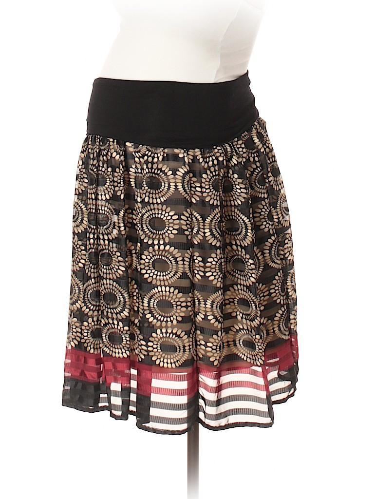 OCTAVIA Maternity Women Casual Skirt Size S (Maternity)