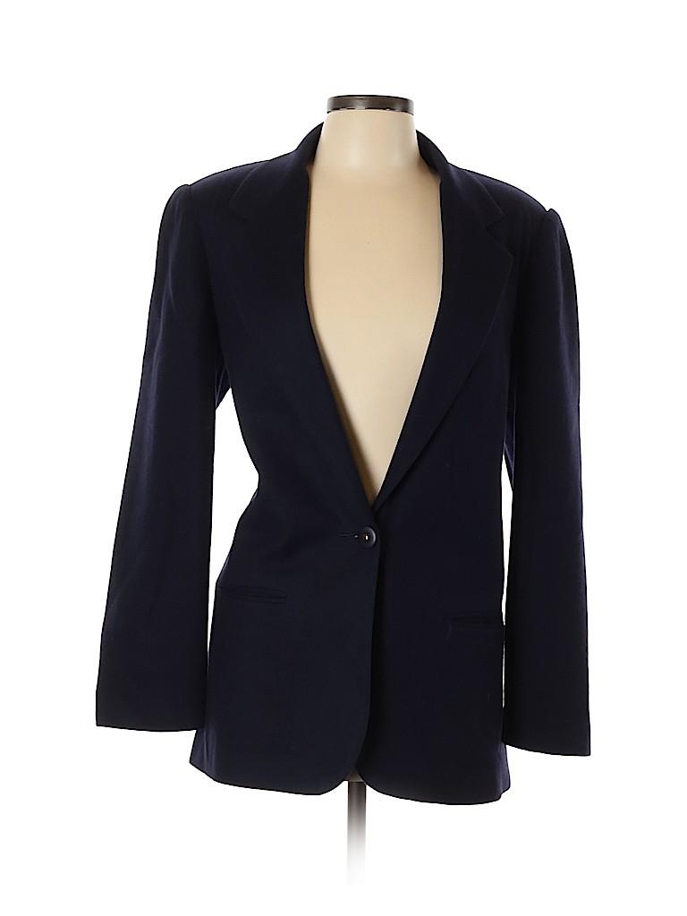 Sag Harbor Women Wool Blazer Size 10