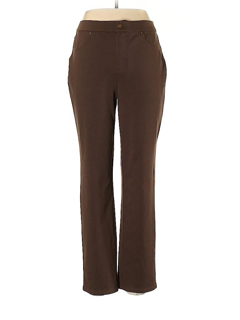 Liz Claiborne Women Casual Pants Size 10