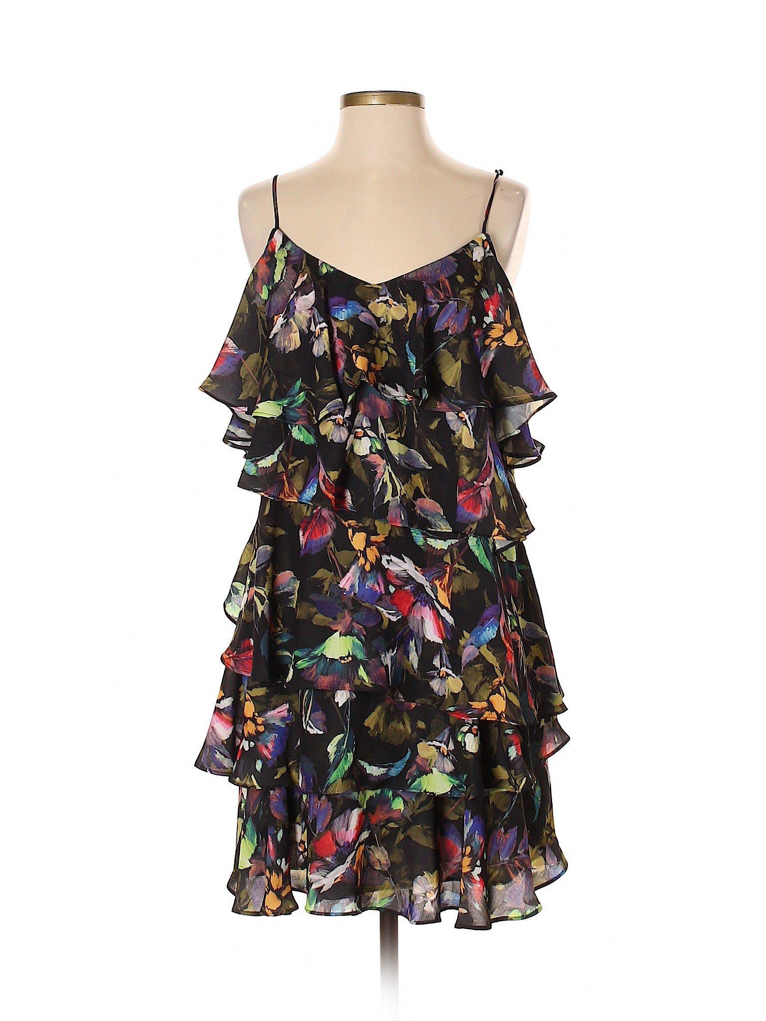 d2452aebeec Gianni Bini Women Black Casual Dress Sm