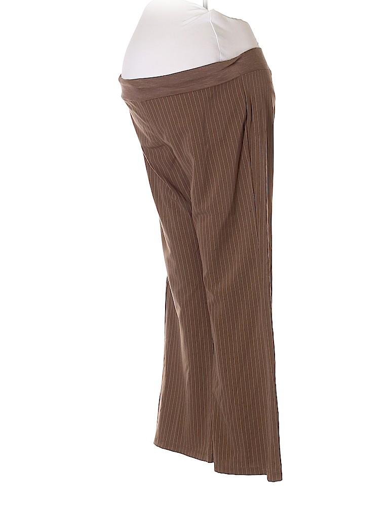 B-Sport Maternity Women Dress Pants Size M (Maternity)