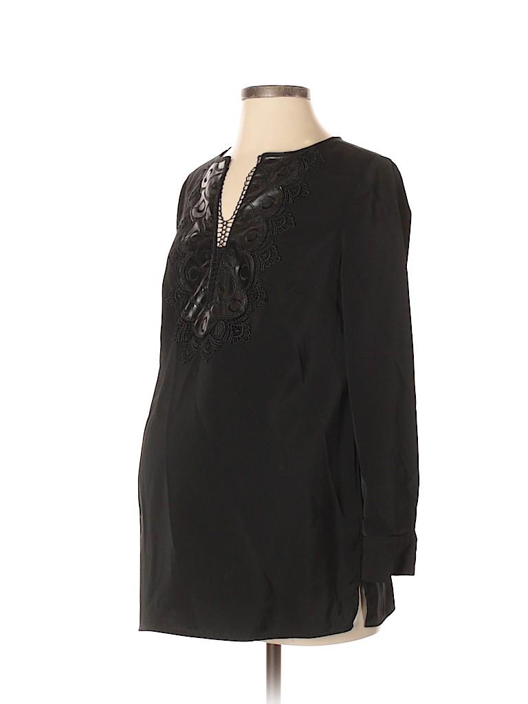 OCTAVIA Maternity Women 3/4 Sleeve Blouse Size S (Maternity)