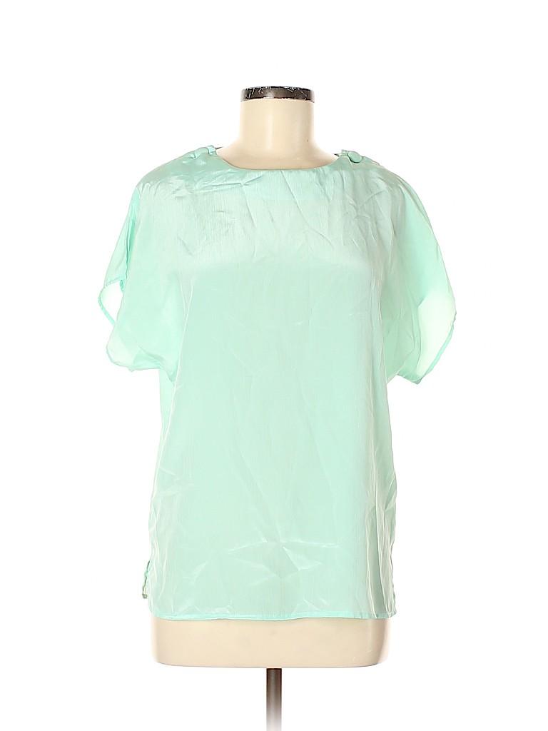 Diane von Furstenberg Women Short Sleeve Blouse Size 12