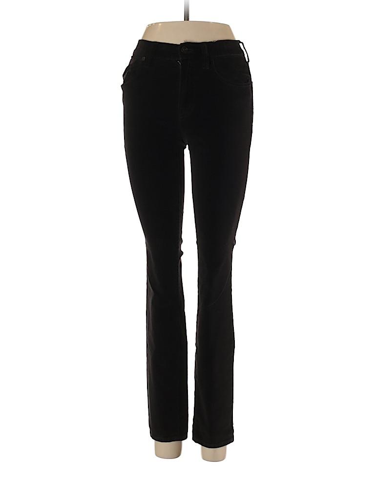Madewell Women Velour Pants 24 Waist