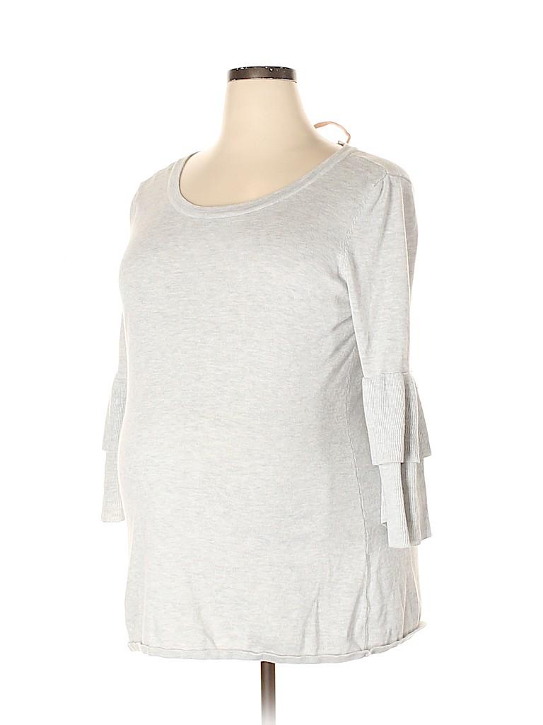 OCTAVIA Maternity Women Pullover Sweater Size XXL (Maternity)