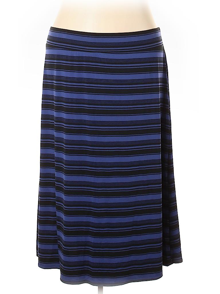 Ava & Viv Women Casual Skirt Size 4X (Plus)
