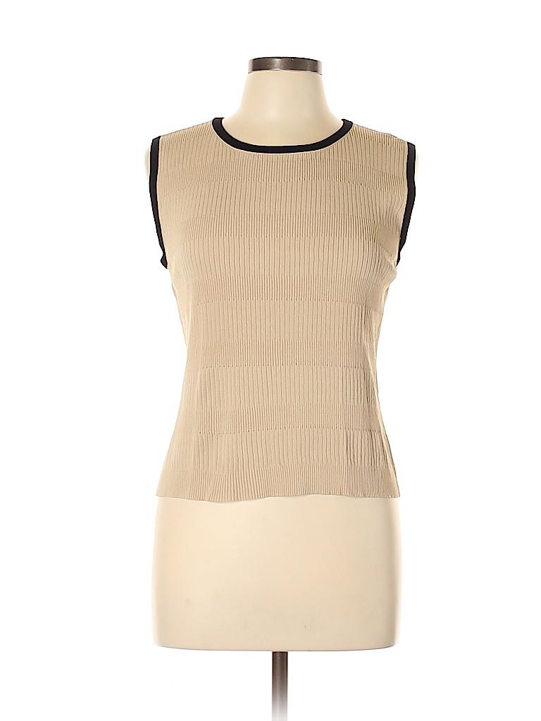 AK Anne Klein Women Sweater Vest Size L