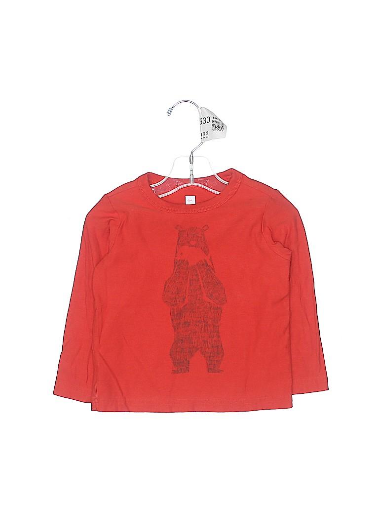 Tea Boys Long Sleeve T-Shirt Size 18-24 mo
