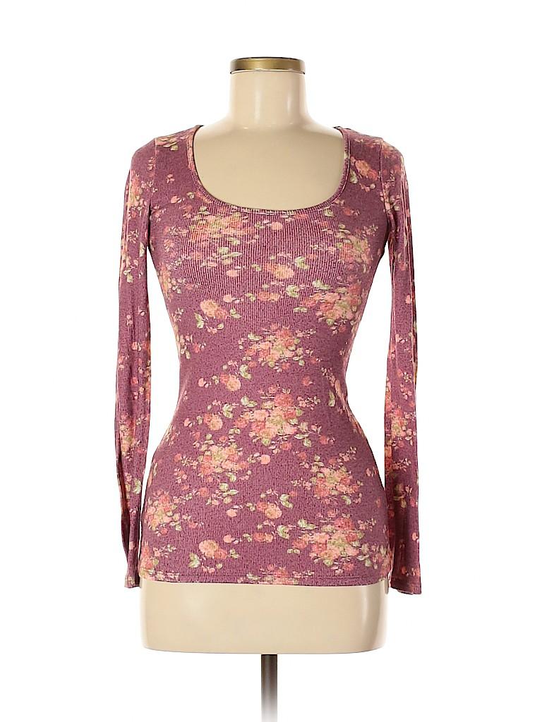 Kiara Women Long Sleeve T-Shirt Size M